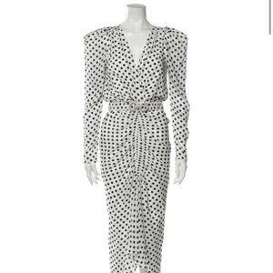 RONNY KOBO Polka Dot Print Dress with Tags! S